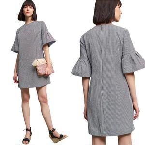 ANTHROPOLOGIE | Donna Morgan Gingham Tunic Dress
